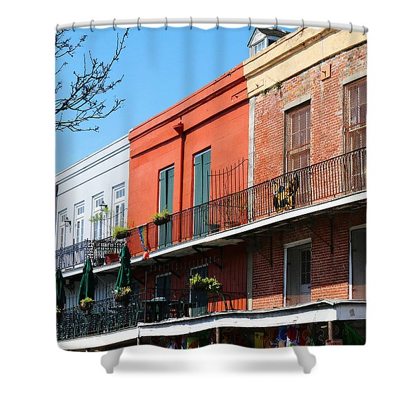 French Quarter New Orleans Shower Curtain