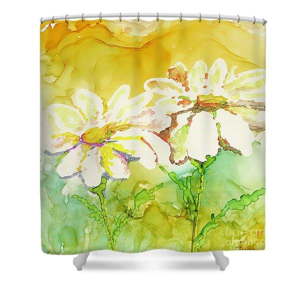 Fresh As Daisies Shower Curtain