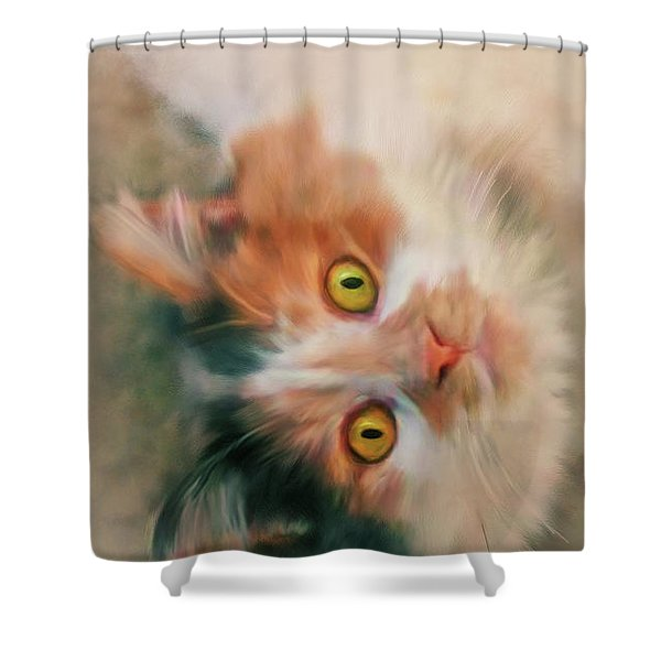 Frisky Shower Curtain