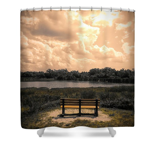From Here To Eternity Shower Curtain