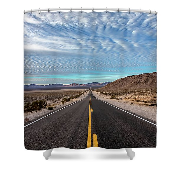 From Nevada To California Shower Curtain