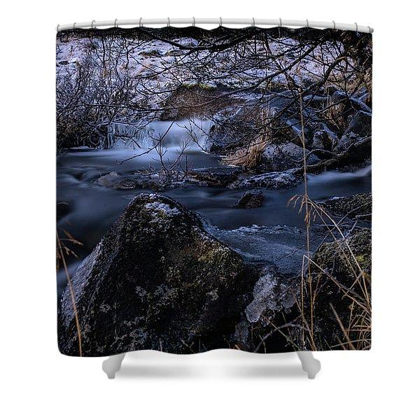 Frozen River II Shower Curtain