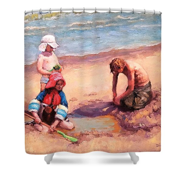 Fun At Jersey Valley Shower Curtain