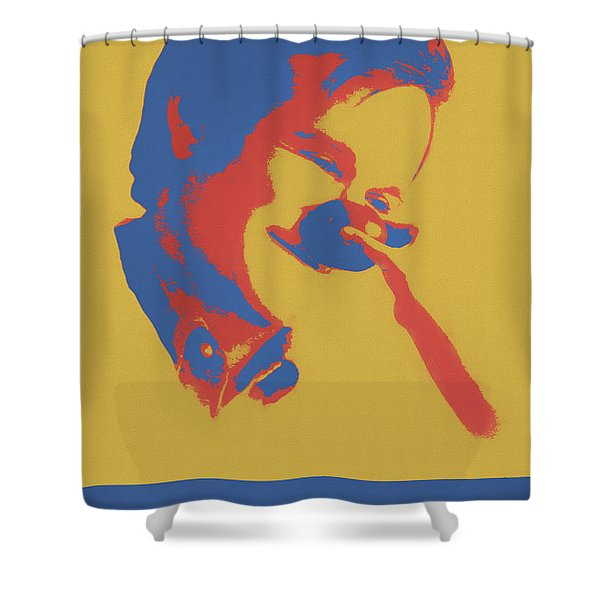 Funny Man Shower Curtain