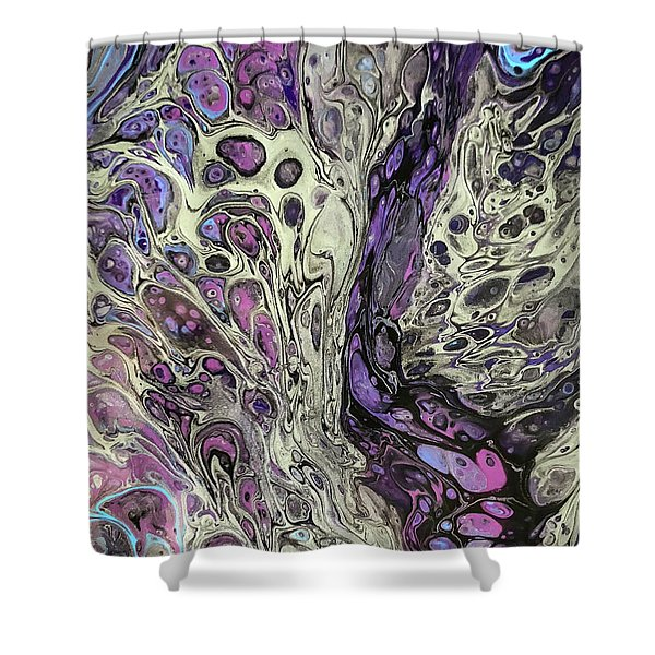 Fusion Of Color Shower Curtain