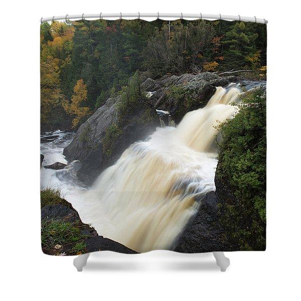 Gabbro Falls 1 Shower Curtain