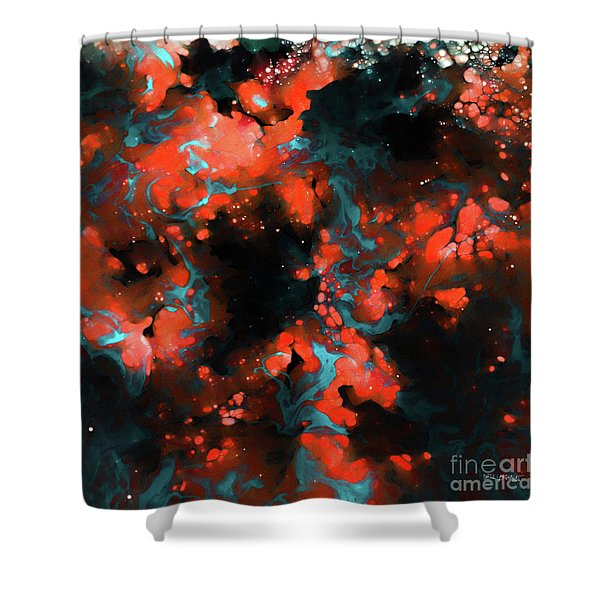 Galatians 2 20. Crucified With Christ Shower Curtain