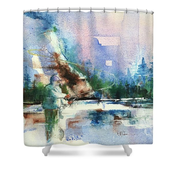 Gallatin Loop Shower Curtain