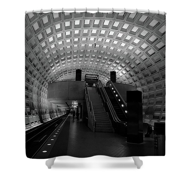Gallery Place Shower Curtain