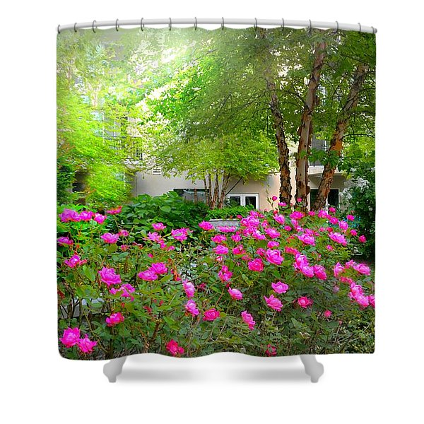 Garden Apartment Shower Curtain