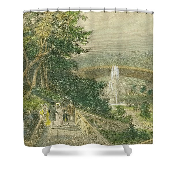 Garden At Fairmount Shower Curtain