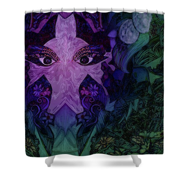Garden Eyes Shower Curtain