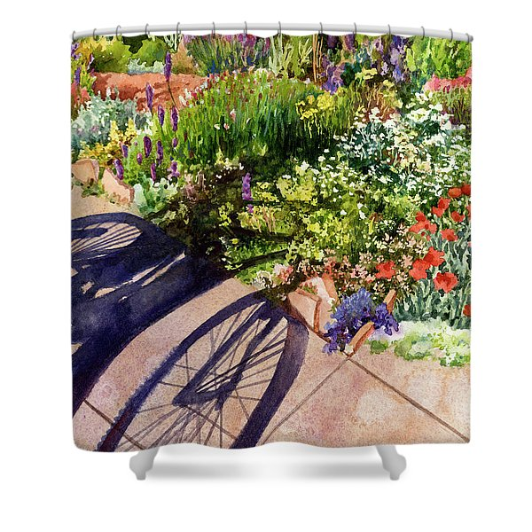 Garden Shadows II Shower Curtain