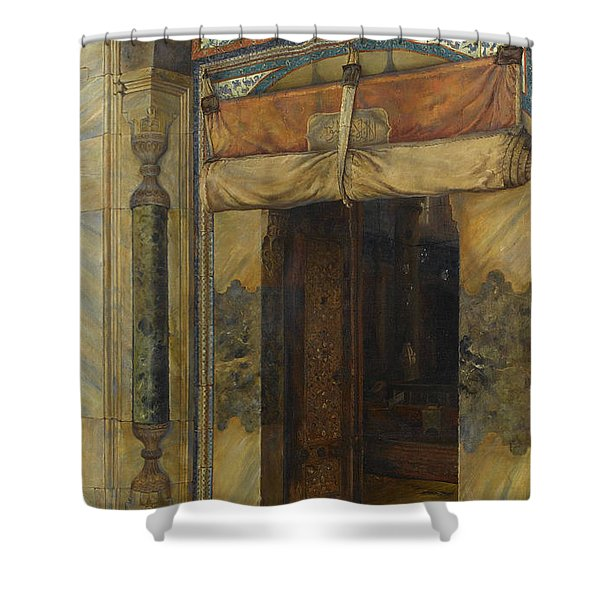 Gate Of Sultan Selim II's Tomb, 1909 Shower Curtain