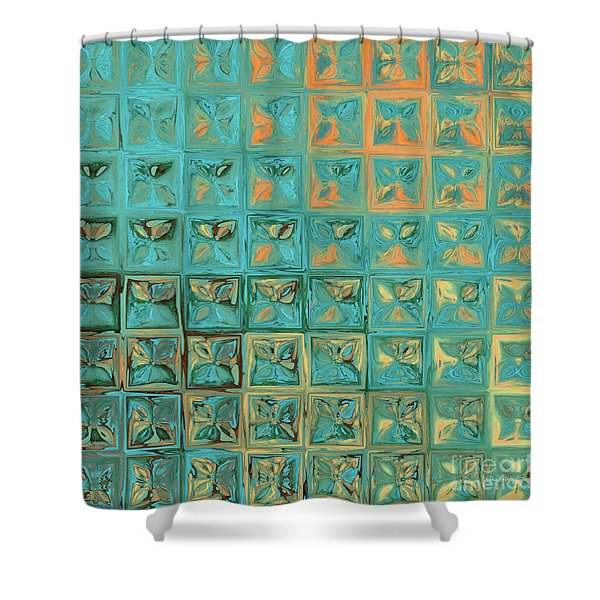 Genesis 15 1. I Am Your Shield Shower Curtain