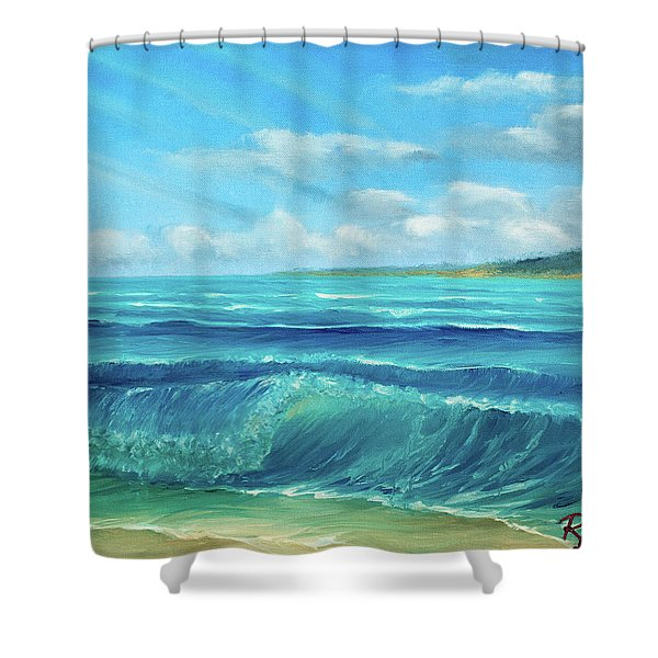 Gentle Breeze Shower Curtain
