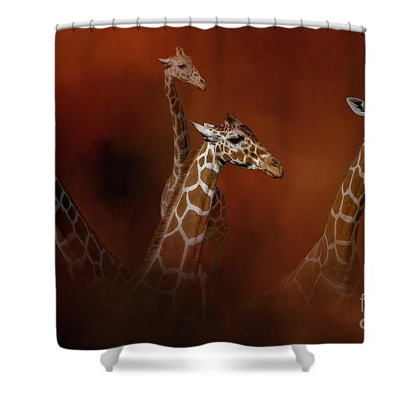 Gentle Giants Shower Curtain