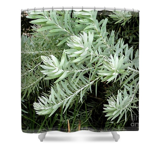 Gentle Leaves Shower Curtain