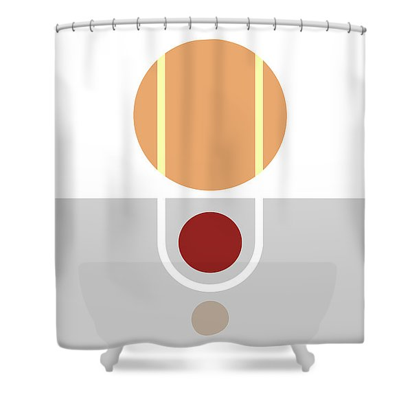 Geometric Painting 11 Shower Curtain
