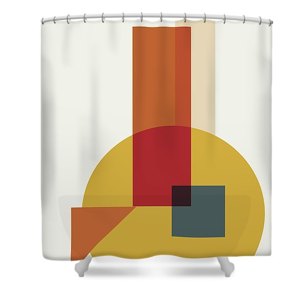 Geometric Painting 13 Shower Curtain