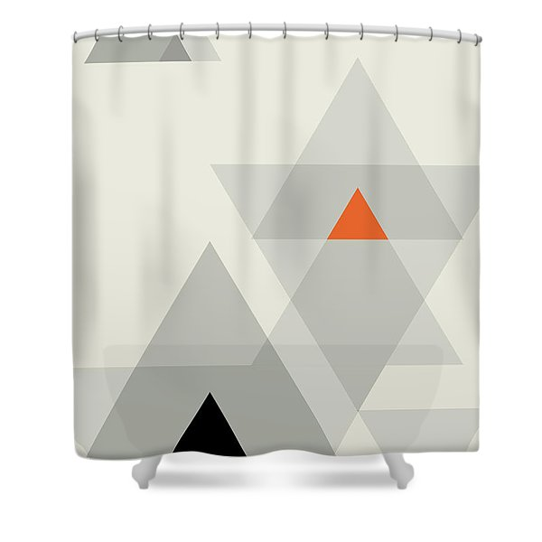 Geometric Painting 15 Shower Curtain
