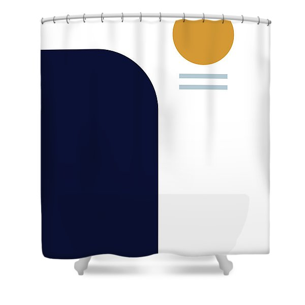 Geometric Painting 2 Shower Curtain