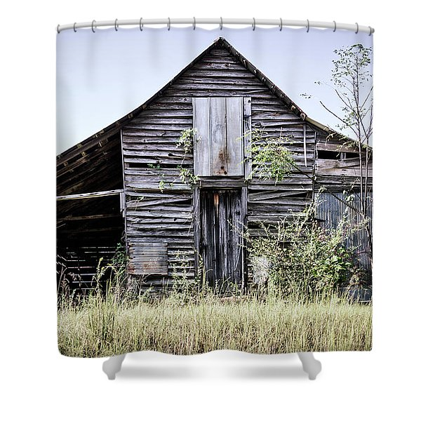 Georgia Barn Shower Curtain