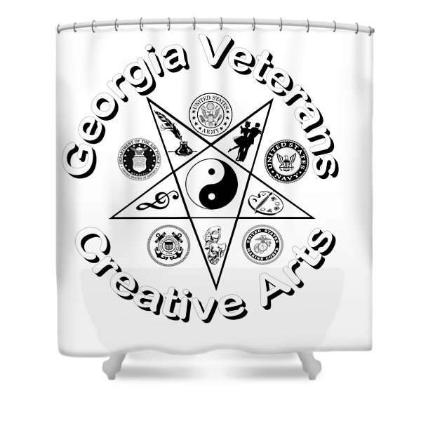 Georgia Veterans Creative Arts Shower Curtain