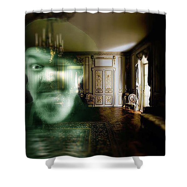 Ghost Of Dr. John Shower Curtain