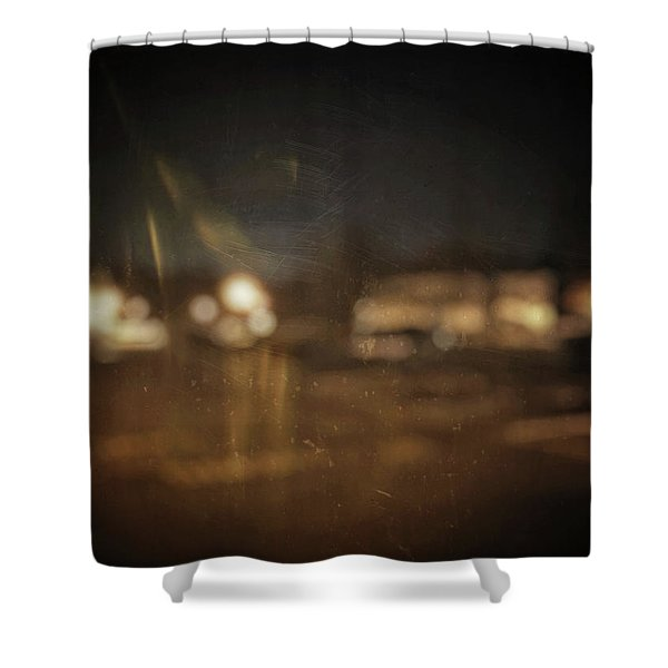 ghosts I Shower Curtain