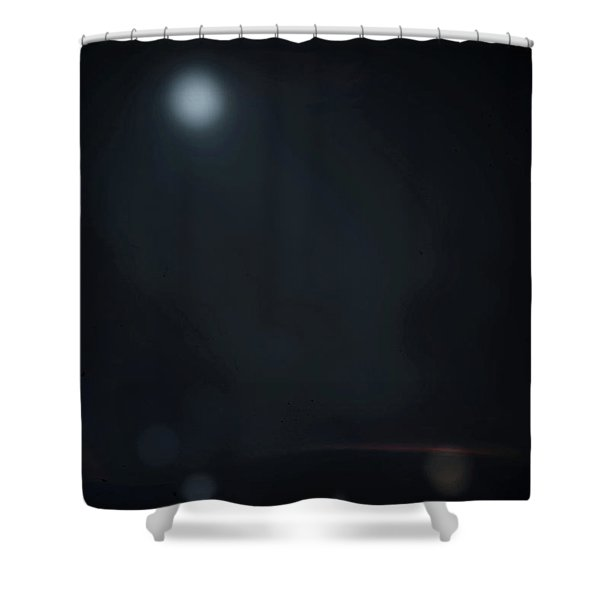ghosts II Shower Curtain