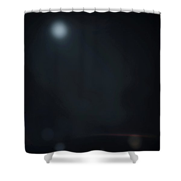 ghosts II Shower Curtain