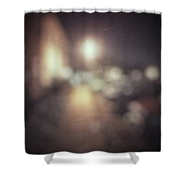 ghosts III Shower Curtain