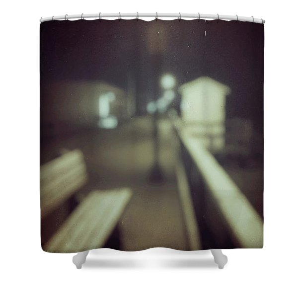 ghosts IV Shower Curtain