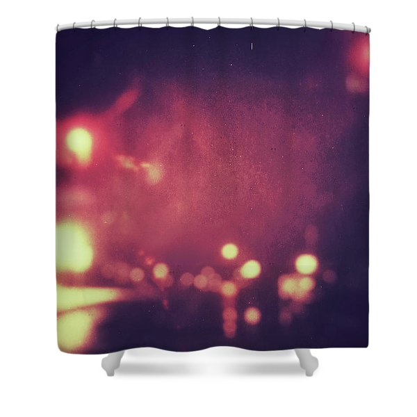 ghosts VI Shower Curtain