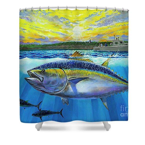 Giant Bluefin Tuna  Shower Curtain