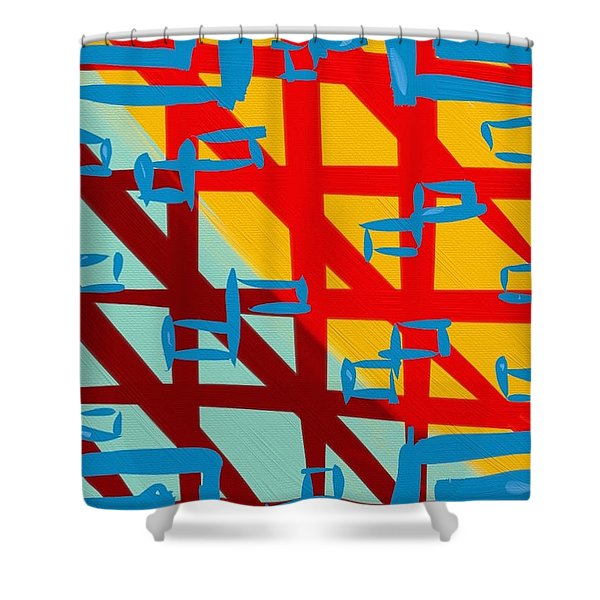 Gilipollez Number One Shower Curtain