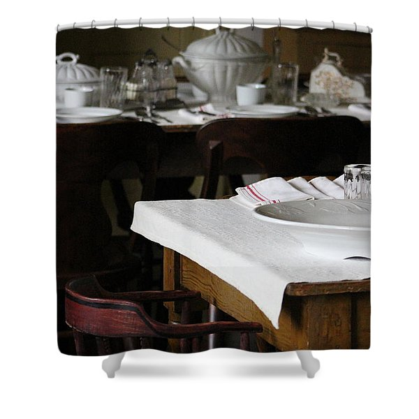 Giving Thanks Shower Curtain