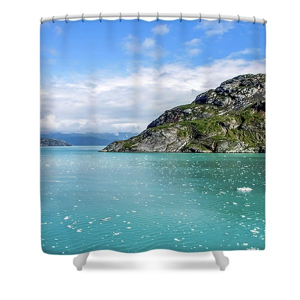Shower Curtain featuring the photograph Glacier Bay 6 by Dawn Richards