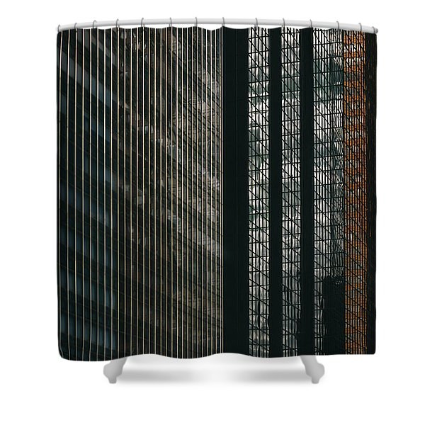 Glass Walls Shower Curtain