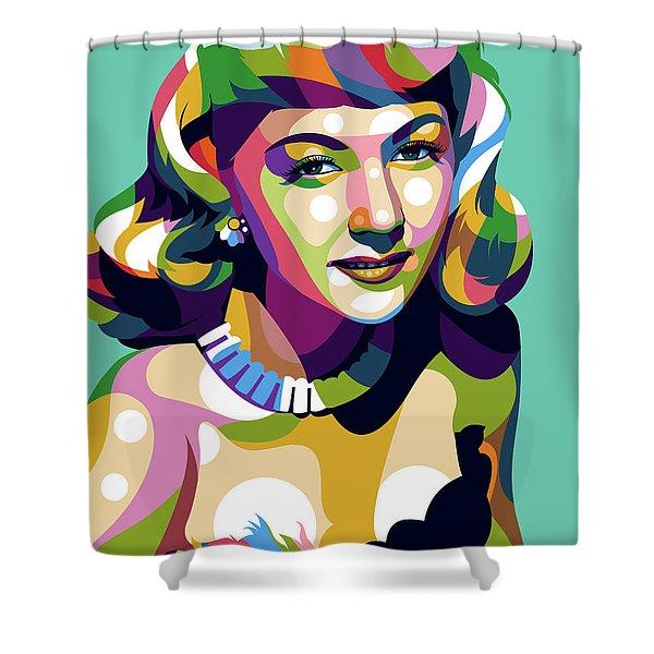 Gloria Graham Shower Curtain