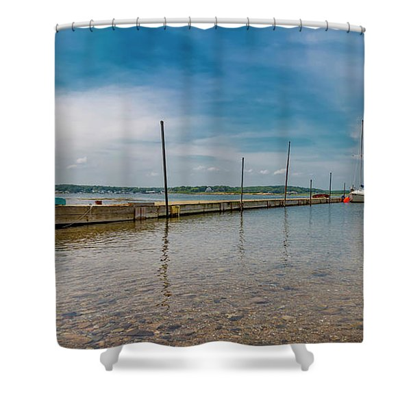 Goat Island Shore Gorgeous Happy Day Shower Curtain