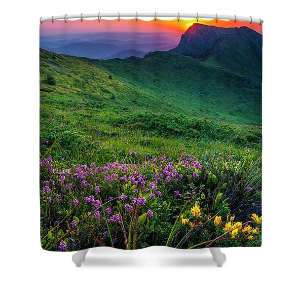 Goat Wall Shower Curtain