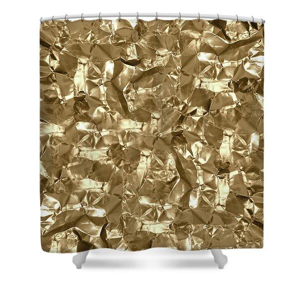 Gold Best Gift  Shower Curtain