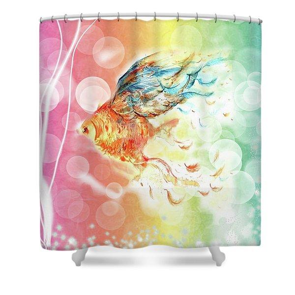 Goldfin Shower Curtain