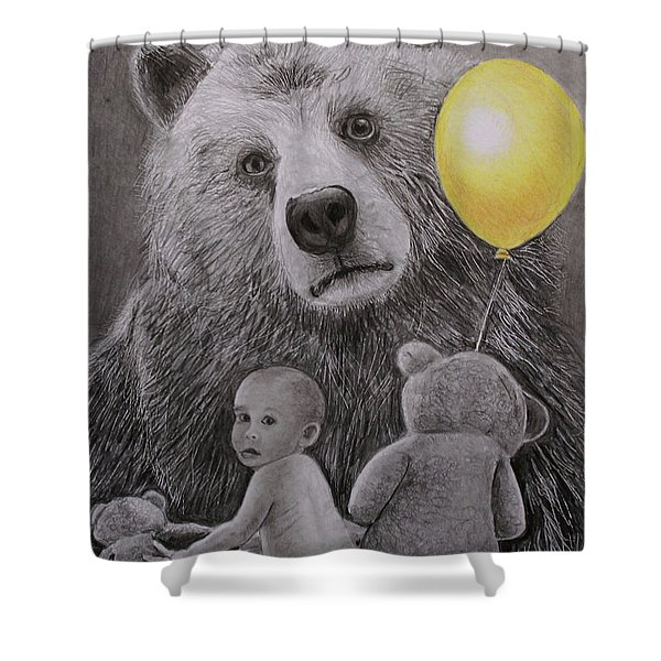 Goldilocks And The Three Bears Shower Curtain