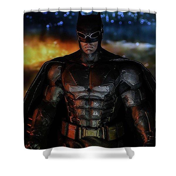 Gotham Knight Shower Curtain