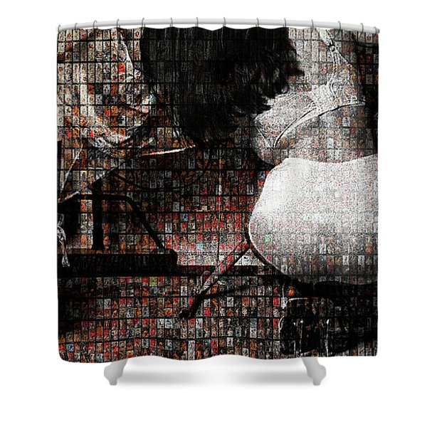 Grace Irons 40 Years Shower Curtain