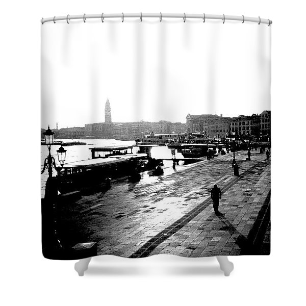 Grand Canal At Sunset Shower Curtain