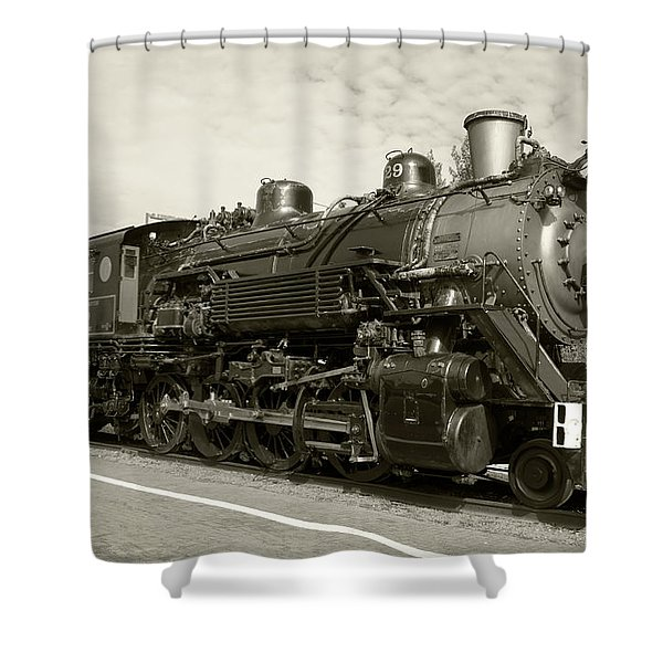 Shower Curtain featuring the photograph Grand Canyon Railway by Dawn Richards